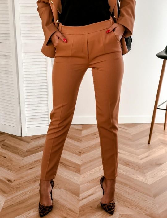 Spodnie Werdi karmel