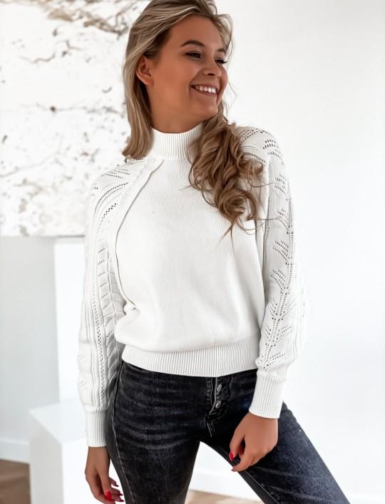 Sweter Tonni śmietankowy