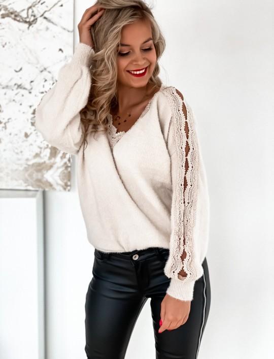 Sweter Gabi jasny beż