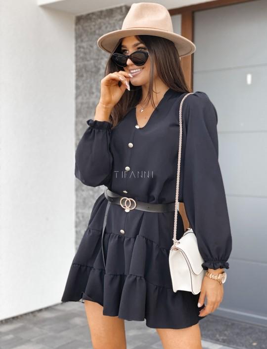 Sukienka Santi czarna