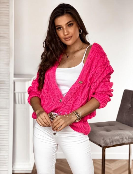 Sweter Lania pink