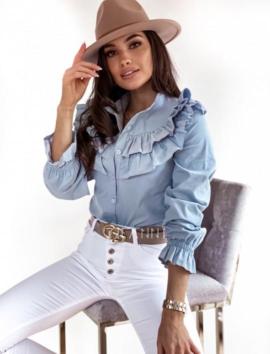 Koszula Pami blue jeans
