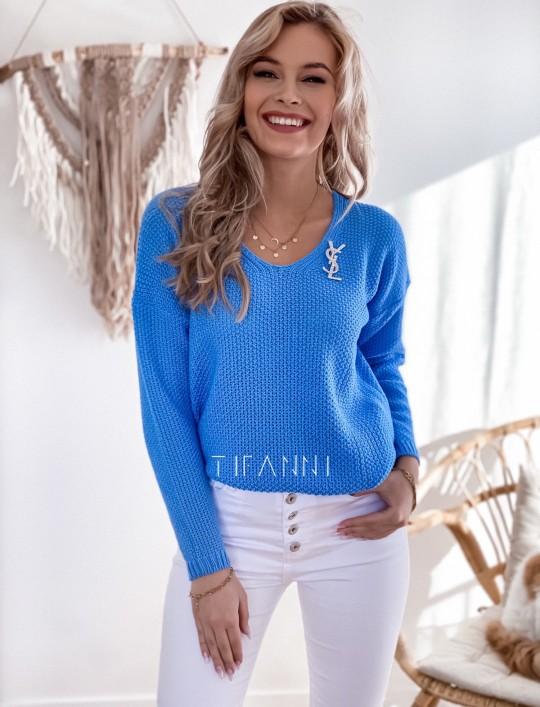 Sweter Santi blue
