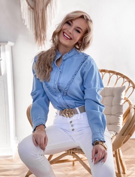 Koszula jeansowa Pami
