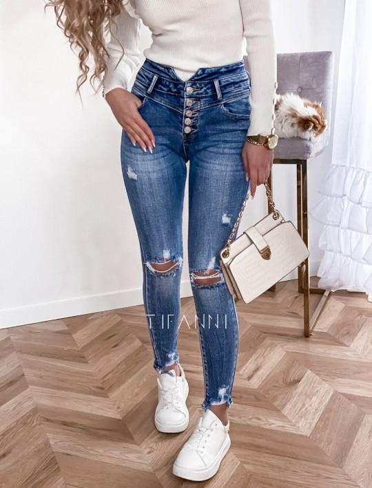 Spodnie jeansowe Zuzi