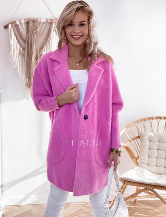 Płaszcz Alpaka pink