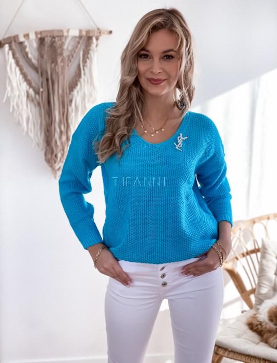 Sweter Santi turkus