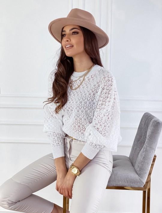 Sweter Lumia w kolorze białym