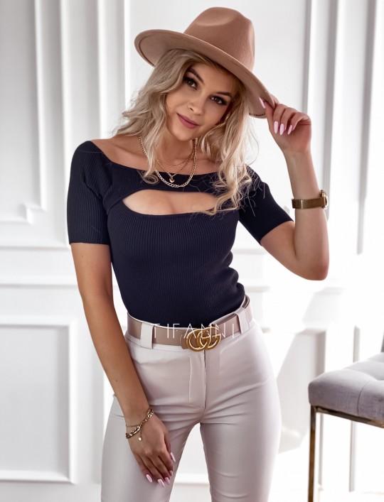 Bluzka Laura czarna