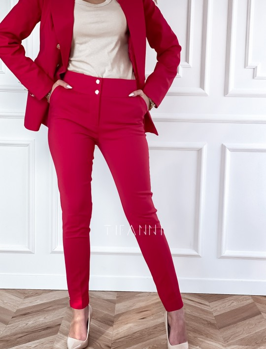 Spodnie Livardi fuksja