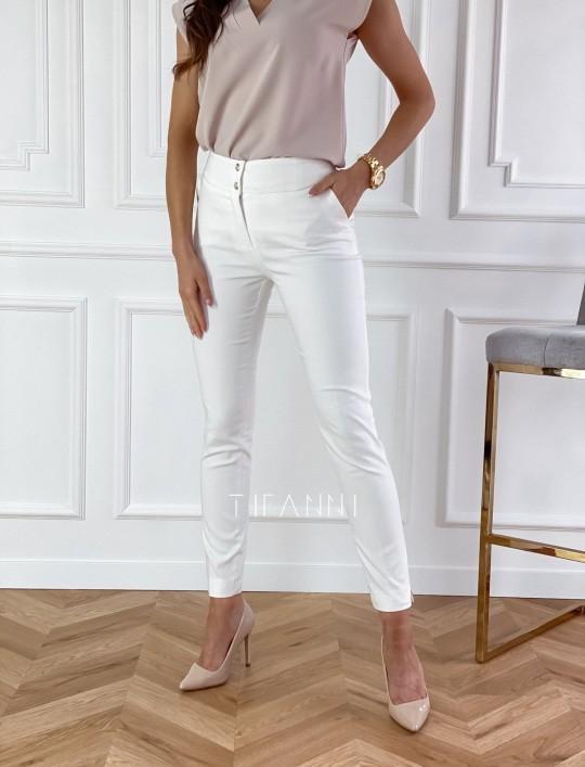 Spodnie Livardi śmietankowe