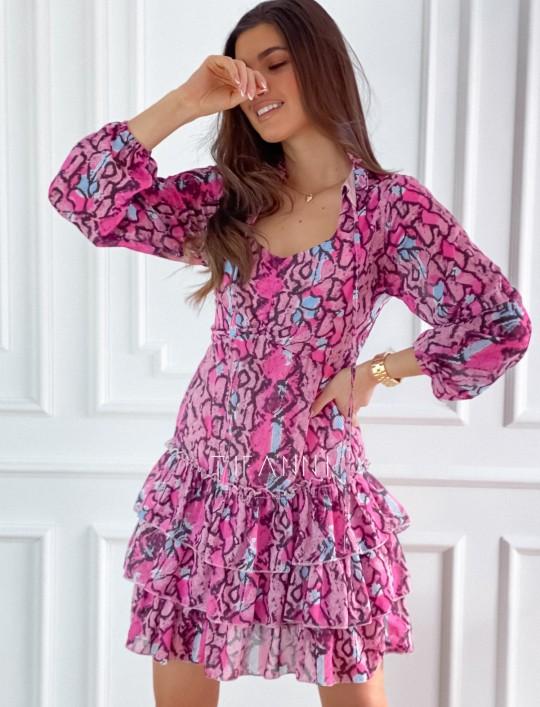 Sukienka z falbankami Verona