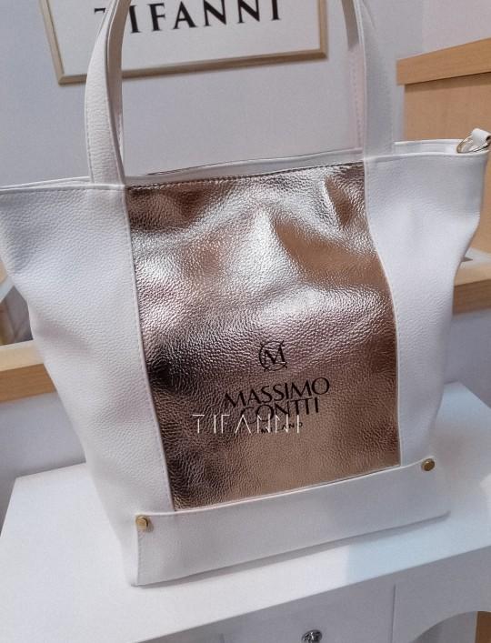 Torebka Massimo biała
