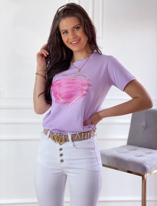T-shirt Carmela lila
