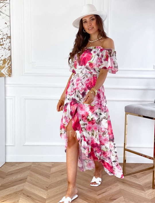 Sukienka hiszpanka maxi Luma II