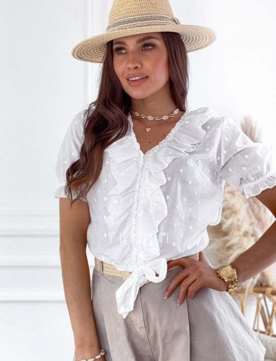 Bluzka Rika biała
