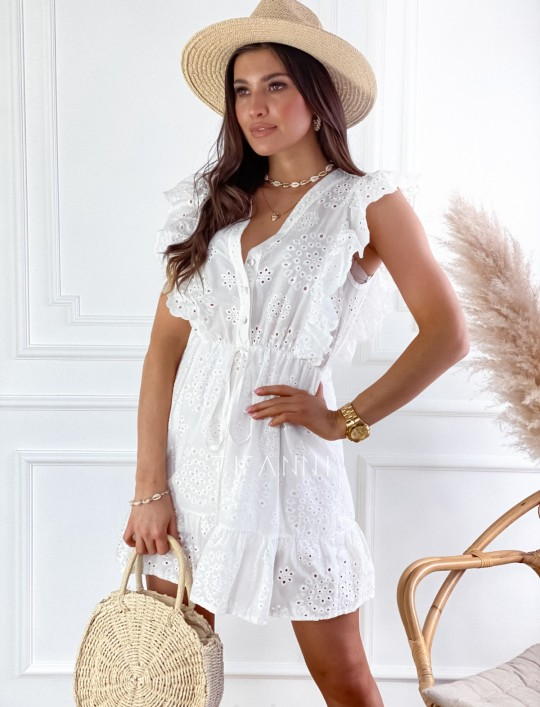 Sukienka Palermo śmietankowa
