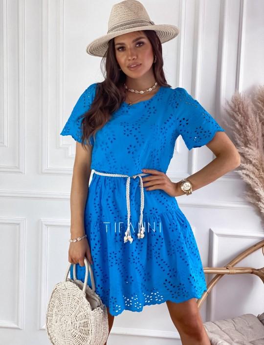 Sukienka Tina kobaltowa