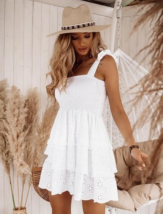 Sukienka Felipa biała