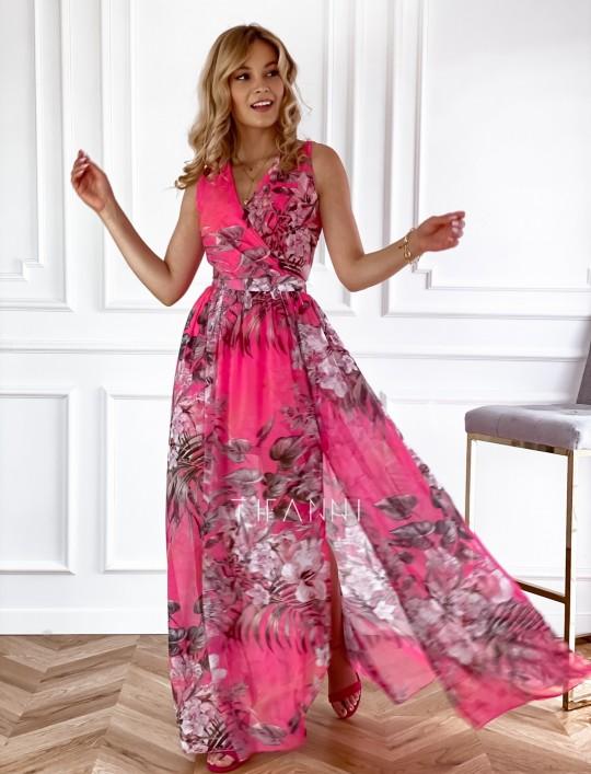 Sukienka Paradiso Maxi pink