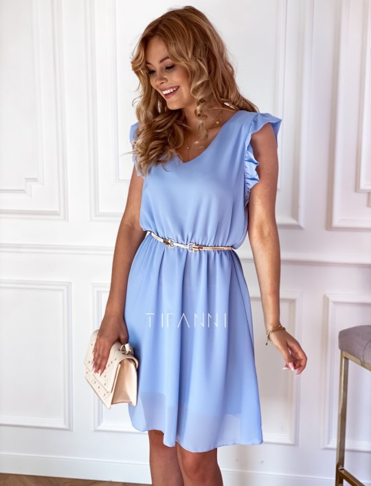 Sukienka Beki błękitna