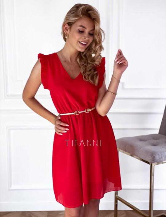 Sukienka Beki czerwona
