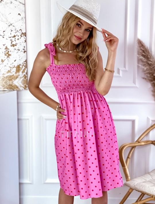 Sukienka Forti pink