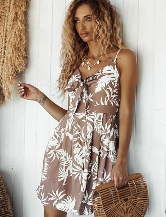 Sukienka Fonda palms