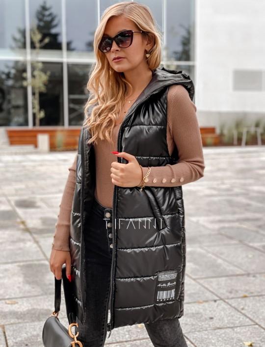 Kamizelka Finestra w kolorze czarnym