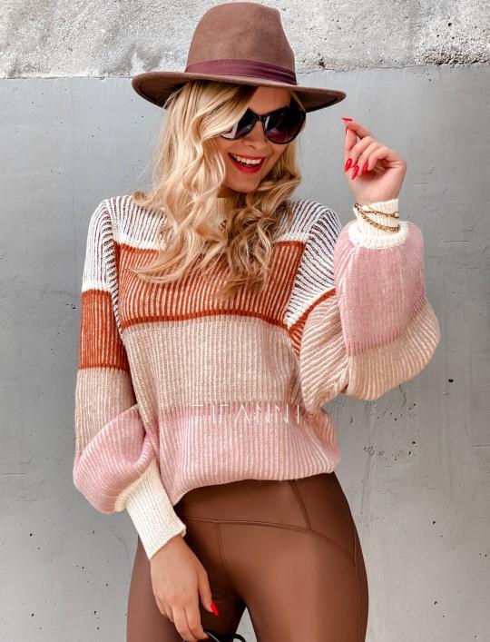 Sweter Malibu szary II