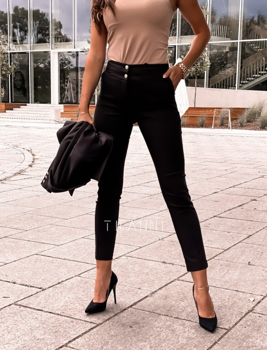Spodnie Livardi czarne