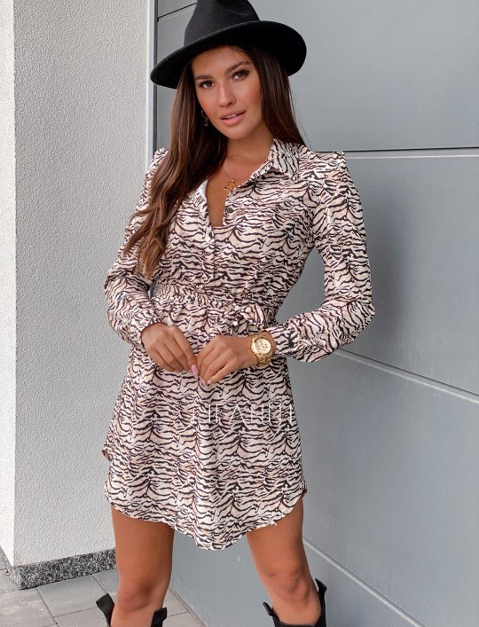 Sukienka Tola zebra