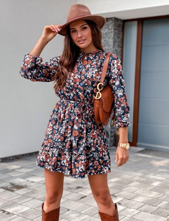 Sukienka w kwiatki Malvia III