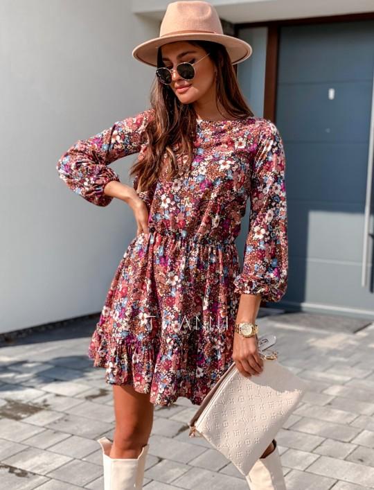 Sukienka Odri w kwiatki