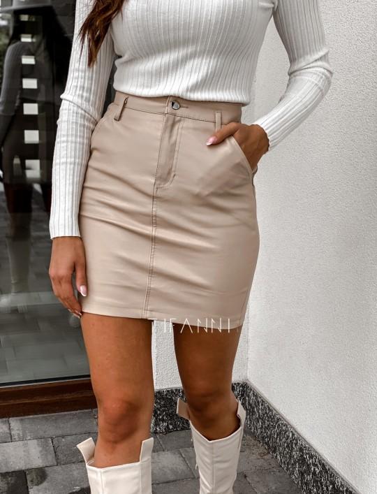 Woskowana spódnica Fabia