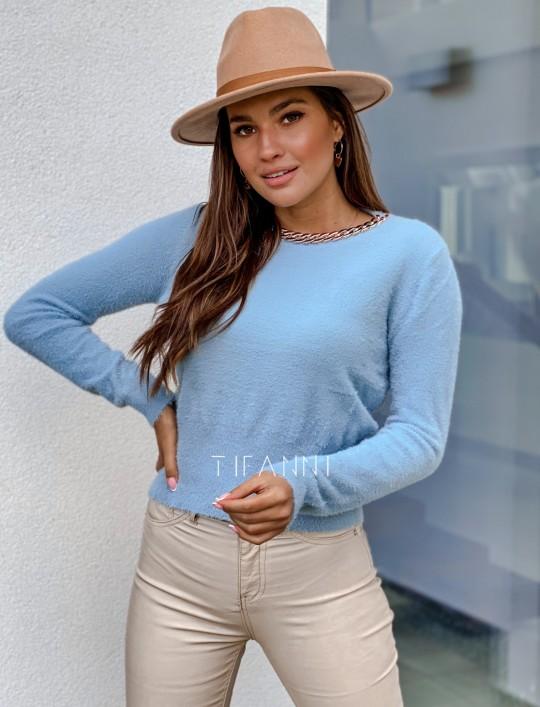 Sweter alpakowy Tifi blue
